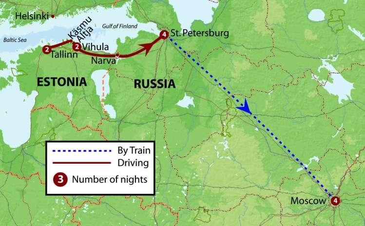 Estonia & Russia   Calgary Adventure Travel & Luxury Tours