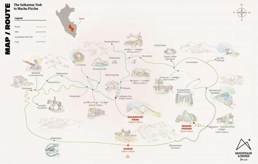 Salkantay Trek to Machu Picchu with Mountain Lodges of Peru | Calgary Adventure Travel & Luxury Tours