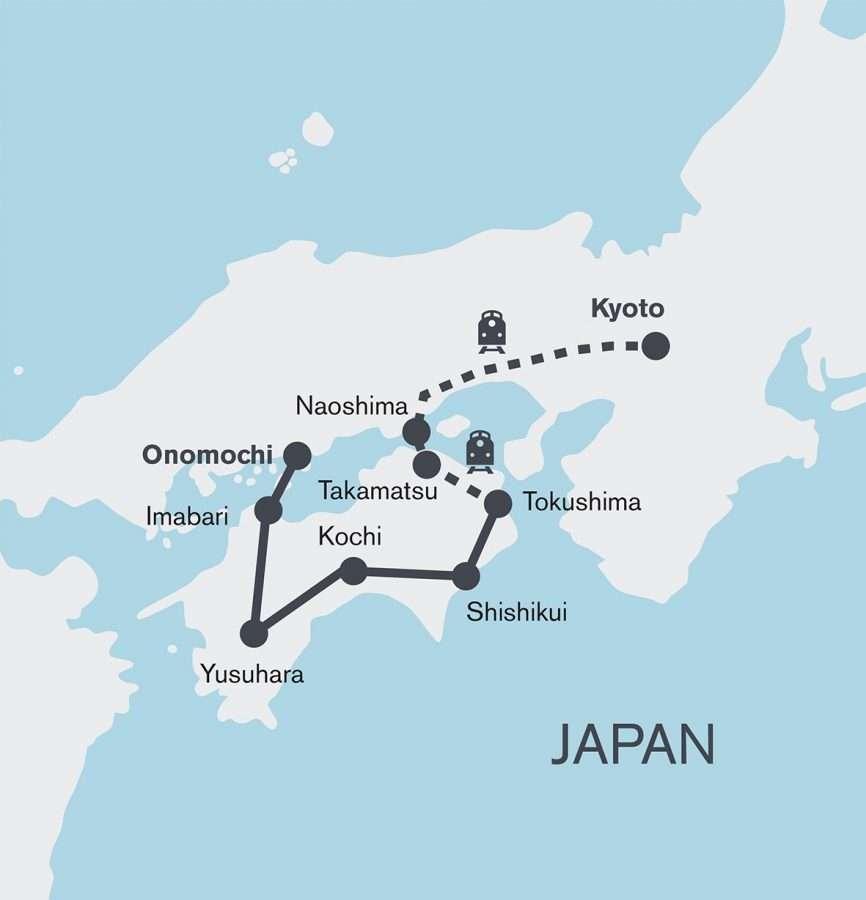 Stunning Shikoku Cycling Tour | Calgary Adventure Travel & Luxury Tours