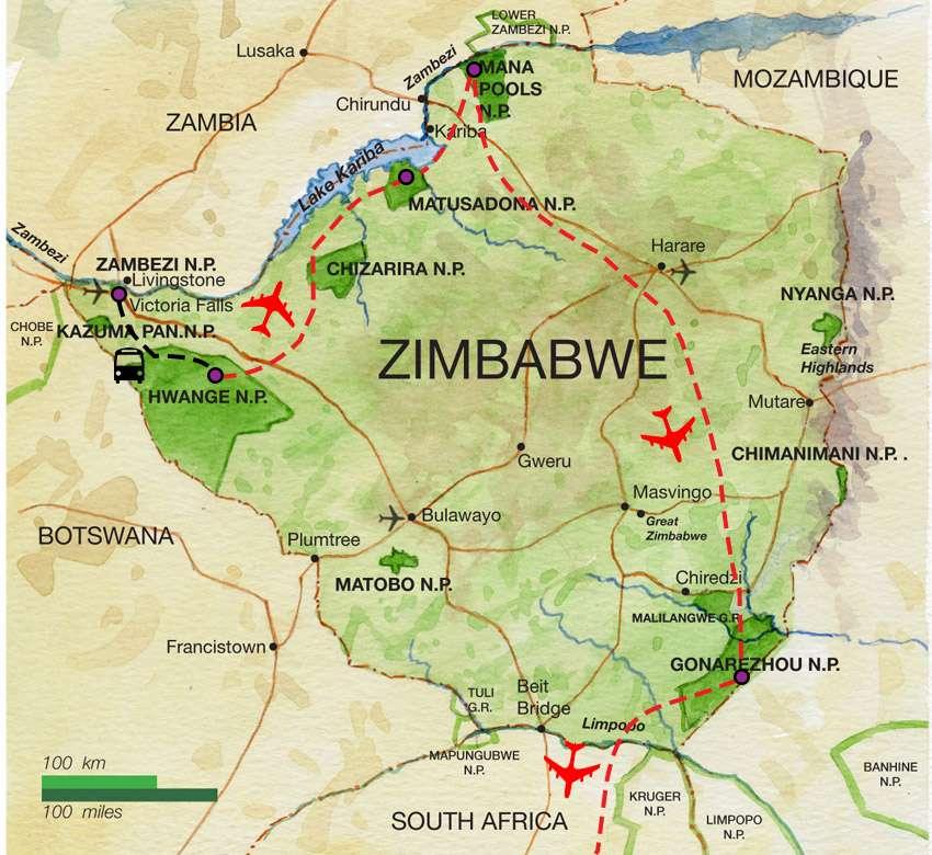 Ultimate Zimbabwe | Calgary Adventure Travel & Luxury Tours