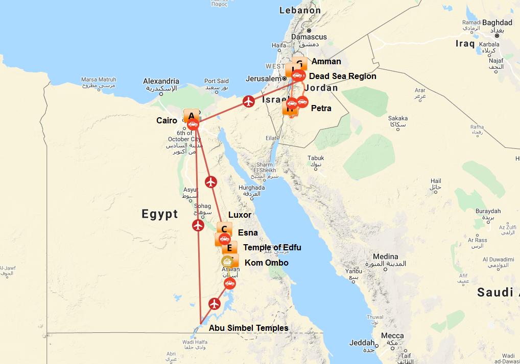 Egypt & Jordan   Calgary Adventure Travel & Luxury Tours