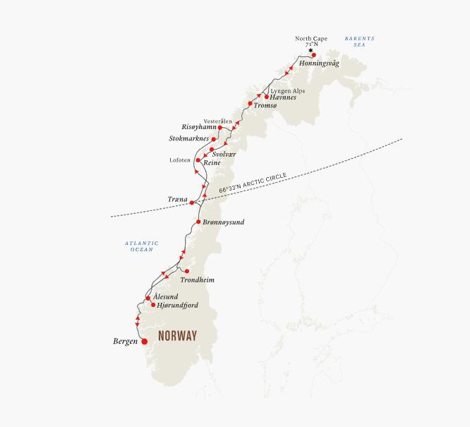 Norway & North Cape – Summer Along the Coastline | Calgary Adventure Travel & Luxury Tours