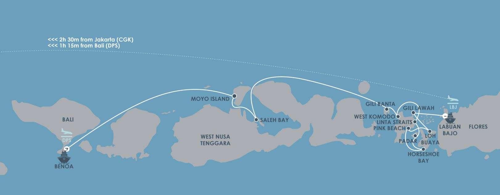 Bali to Komodo National Park on a world class yacht | Calgary Adventure Travel & Luxury Tours