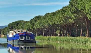 Cruising along the famed Canal du Midi on a luxury barge, France | Calgary Adventure Travel & Luxury Tours