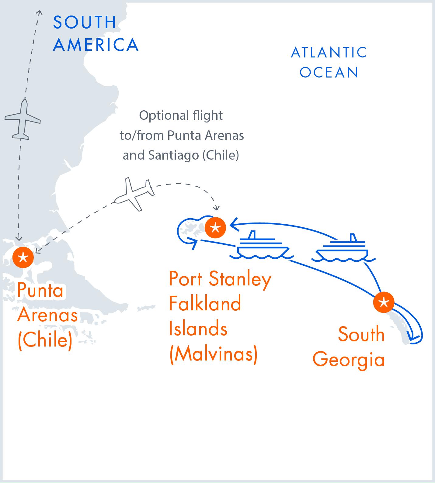 Falkland Islands & South Georgia Expedition   Calgary Adventure Travel & Luxury Tours