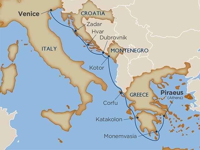 Adriatic Archipelagos & Greece Cruise | Calgary Adventure Travel & Luxury Tours