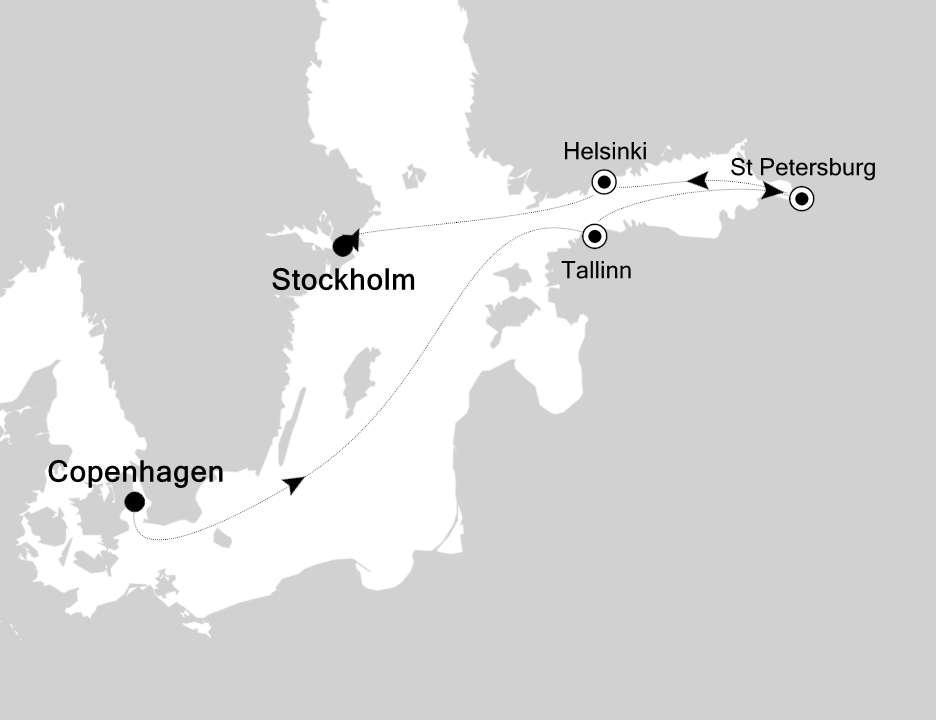 Jewels of The Baltic Sea Cruise | Calgary Adventure Travel & Luxury Tours