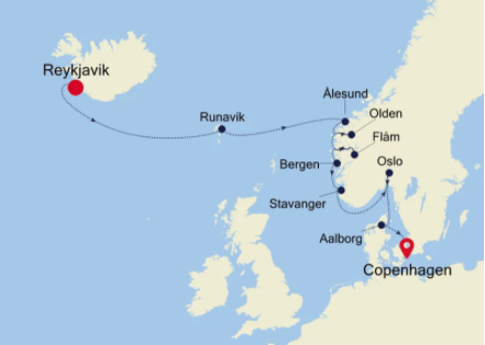 Iceland and Nordic Cruise | Calgary Adventure Travel & Luxury Tours