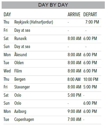 Iceland and Nordic Cruise   Calgary Adventure Travel & Luxury Tours