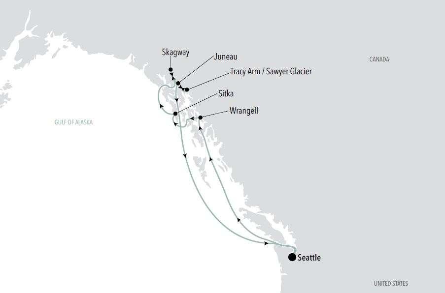 Alaska Cruise with Kathy Oakes   Calgary Adventure Travel & Luxury Tours