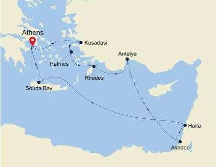 Eastern Mediterranean Cruise   Calgary Adventure Travel & Luxury Tours